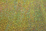 Sparkle Spandex - Gold/Gold - Golden D'or Fabrics - 6