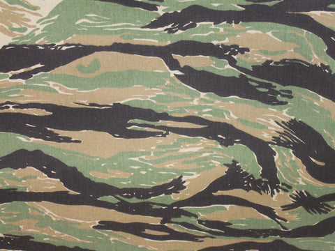 Camo Canvas- Tiger Stripe Light -  - Golden D'or Fabrics