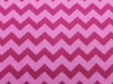 Cotton Chevron - Tonal Fuchsia - Golden D'or Fabrics - 1