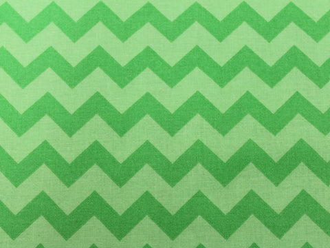 Cotton Chevron - Tonal Lime - Golden D'or Fabrics - 4