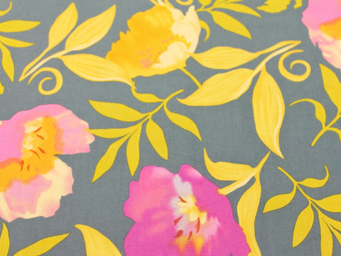 Trefoil Flower Cotton - Golden D'or Fabrics