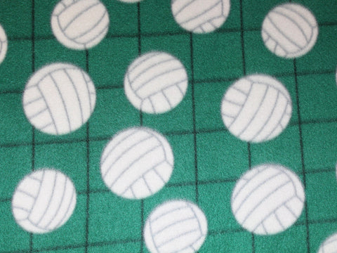 Volleyball Fleece- Hunter Green -  - Golden D'or Fabrics
