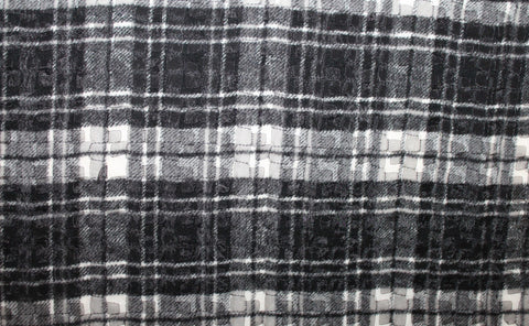 Designer Wool Plaid - Golden D'or Fabrics