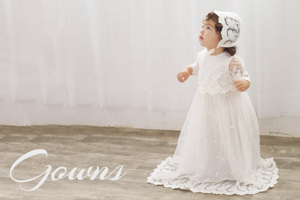 Girls Christening Dresses and Gowns