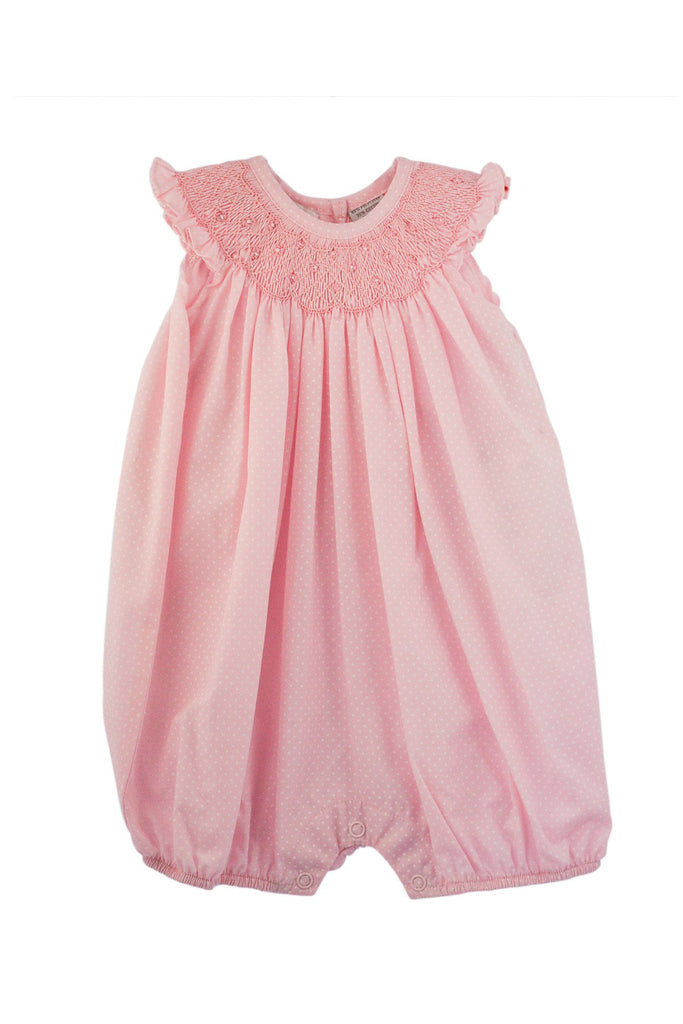 Carriage Boutique Baby Girl Classic Pink Bloomer - Flower Bullions [product_tags] - Carriage Boutique