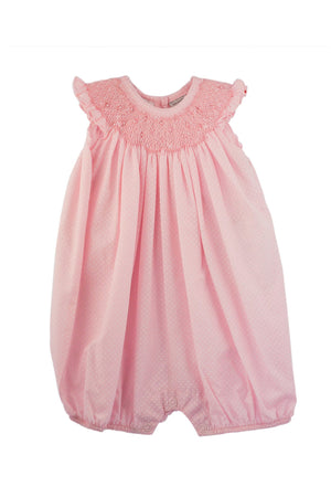 Baby Girl Classic Pink Bloomer - Flower Bullions [product_tags] - Carriage Boutique