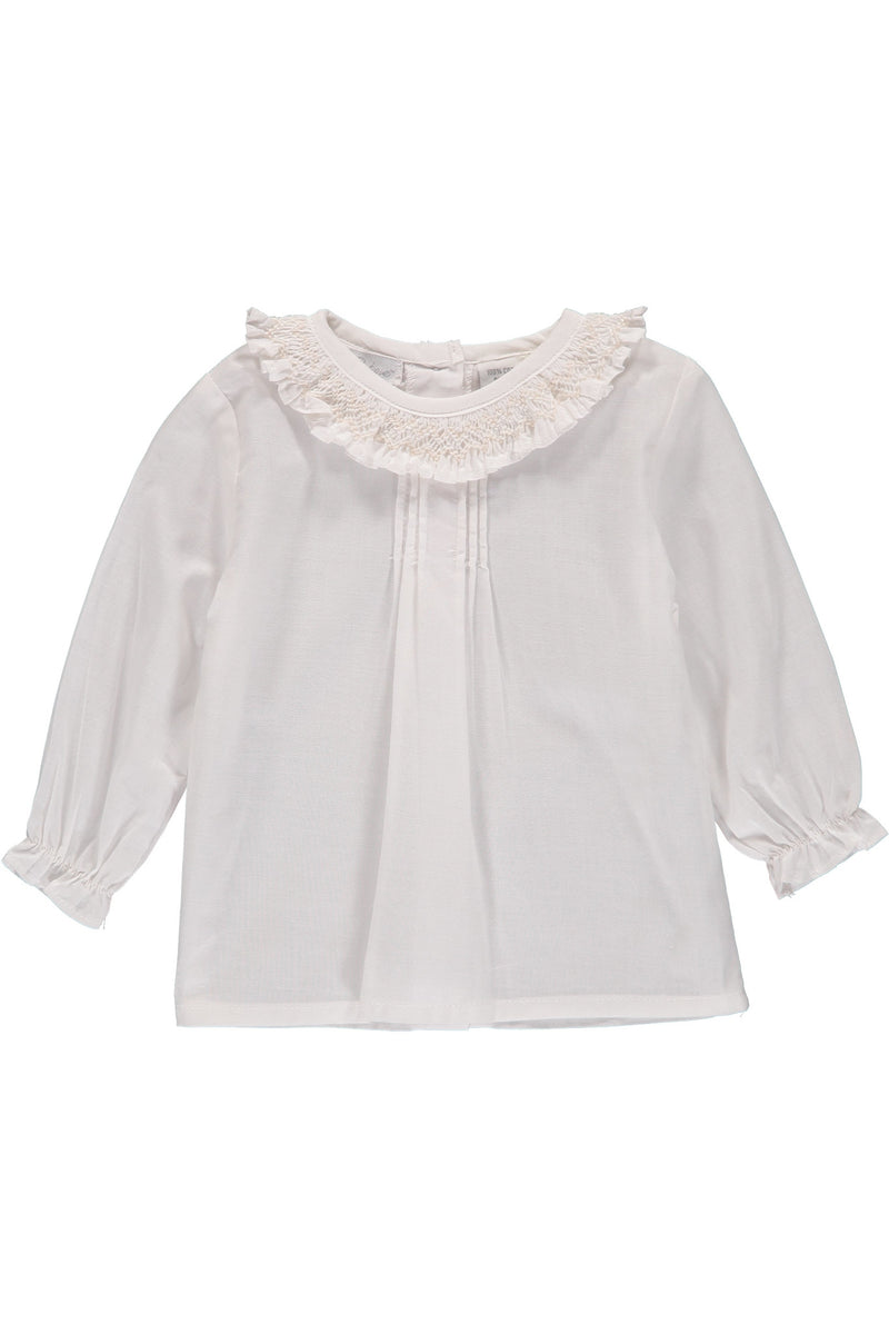 Baby Girl Long Sleeve Blouse [product_tags] blouse- Carriage Boutique