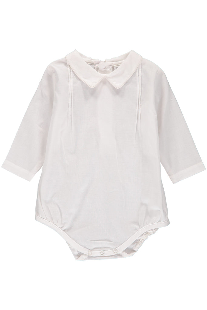Baby Boys Long Sleeve Creeper [product_tags] creeper- Carriage Boutique