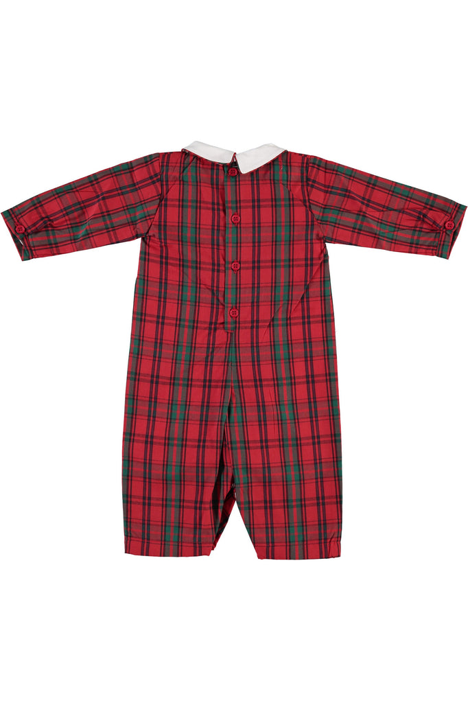 Red Plaid Group Long Sleeve Longall [product_tags] - Carriage Boutique