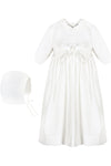 Baby Girl Pebble Stitch Gown, , Imagewear, Imagewear