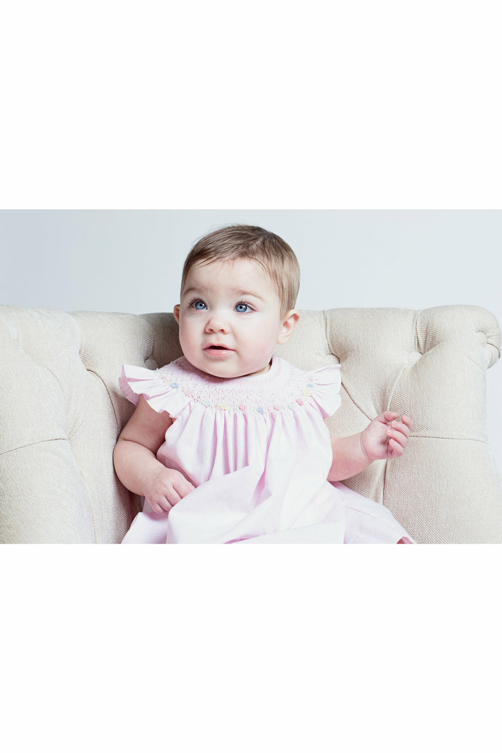 Baby Girl Pink Bishop Dress [product_tags] dress- Carriage Boutique