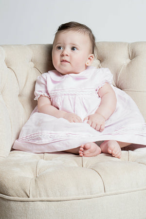 Baby Girl Pink Lace Dress [product_tags] dress- Carriage Boutique