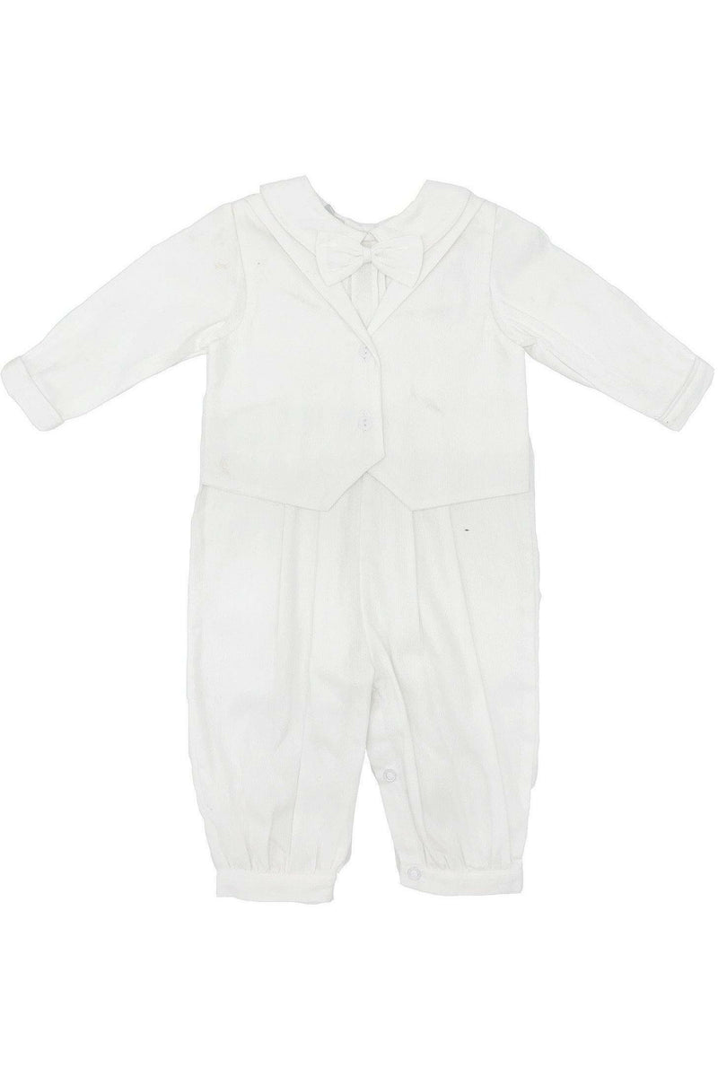Baby Boy Formal Vest Longall + Hat