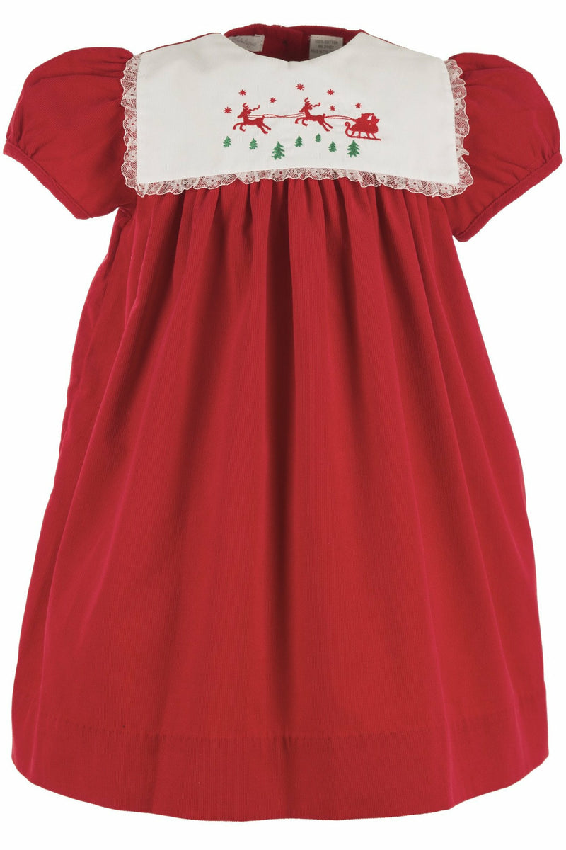 Reindeer Short Sleeve Dress