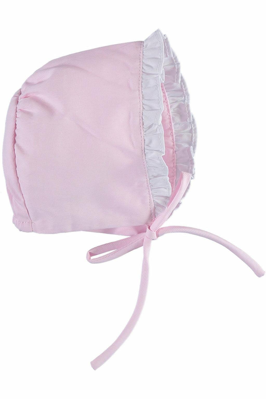 Carriage Boutique Baby Girl Bonnet - Pink