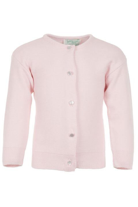 Cotton Cashmere Pink Girl Cardigan