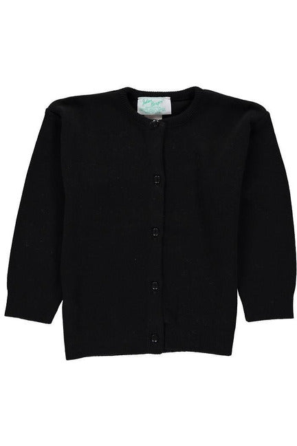 Cotton Cashmere Black Girl Cardigan