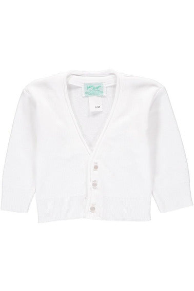 Cotton Cashmere  Boy Cardigan [product_tags] - Carriage Boutique