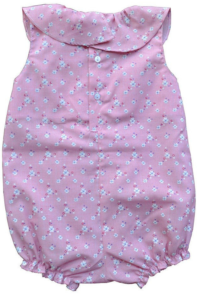 Baby Girl Spring Summer Pink Bloomer - Dancing Diamond Daisies [product_tags] - Carriage Boutique