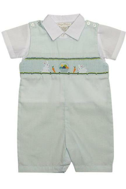 Easter Bunnies  2 Piece Shortall Set