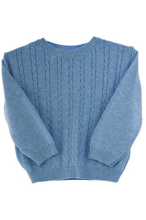 Pull Over Blue Boys Sweater