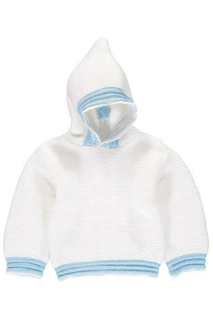Zip Back Hoodie Baby Boy Sweater