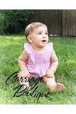 Carriage Boutique Baby Girl Spring Summer Pink Bloomer - Dancing Diamond Daisies [product_tags] - Carriage Boutique