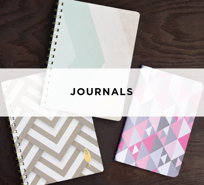 Journals for Bullet Journaling - Hard Cover and Sewn