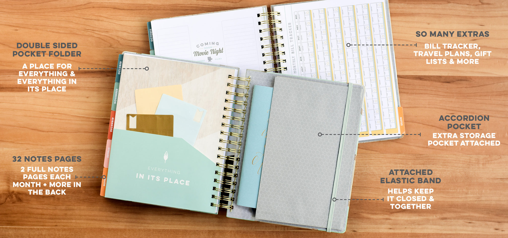 Weekly Planner for Women with Extra Notes Pages