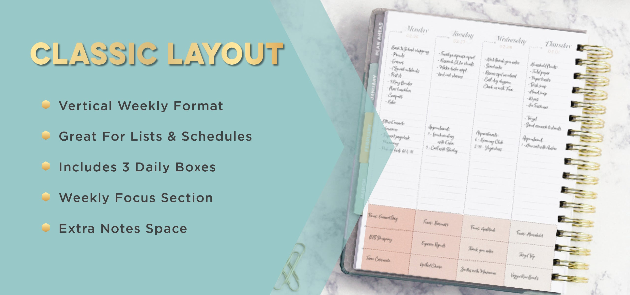 Weekly Planner for Busy Women
