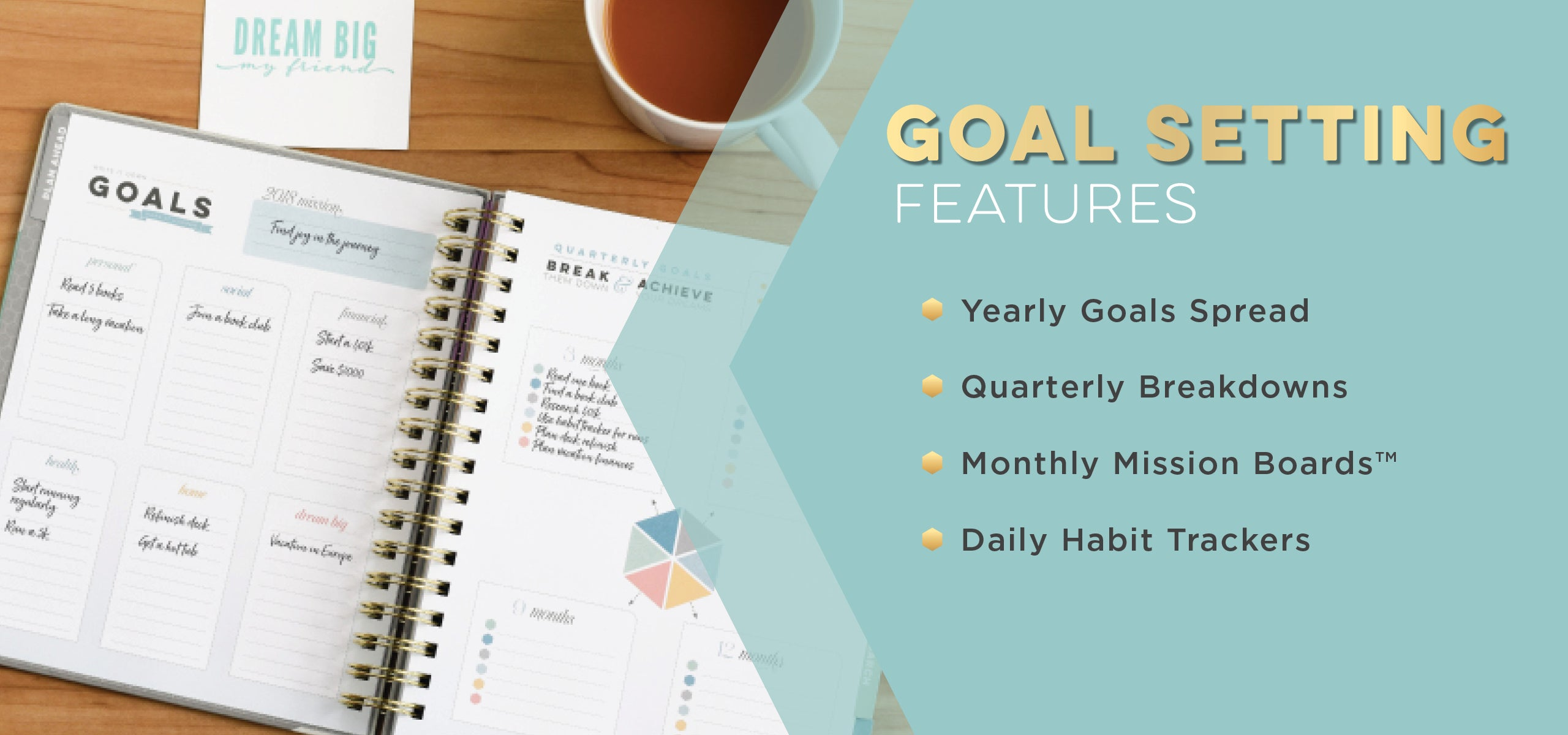 Weekly Planner with Goal Setting Section