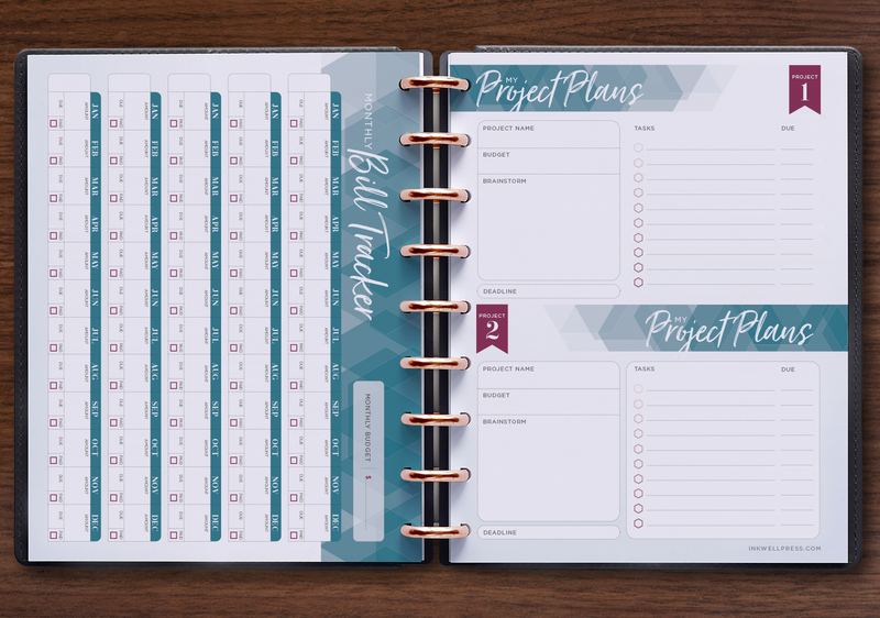 Horizontal Weekly Bills & Projects