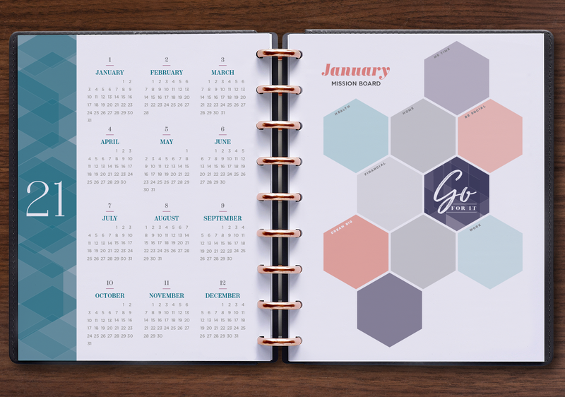 Monthly Perpetual Calendar