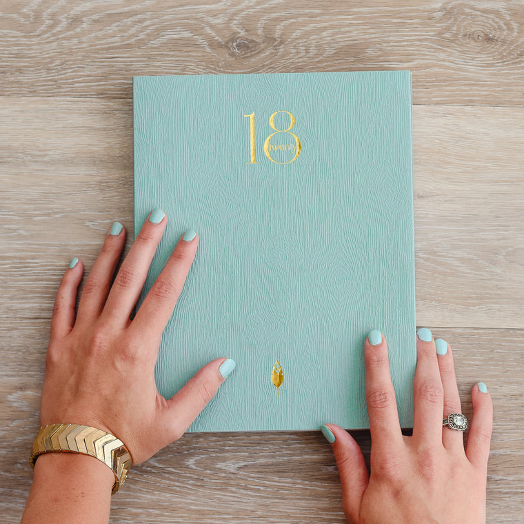 2018 Weekly Planner with Lay Flat Binding - Perfect for Left Handed People