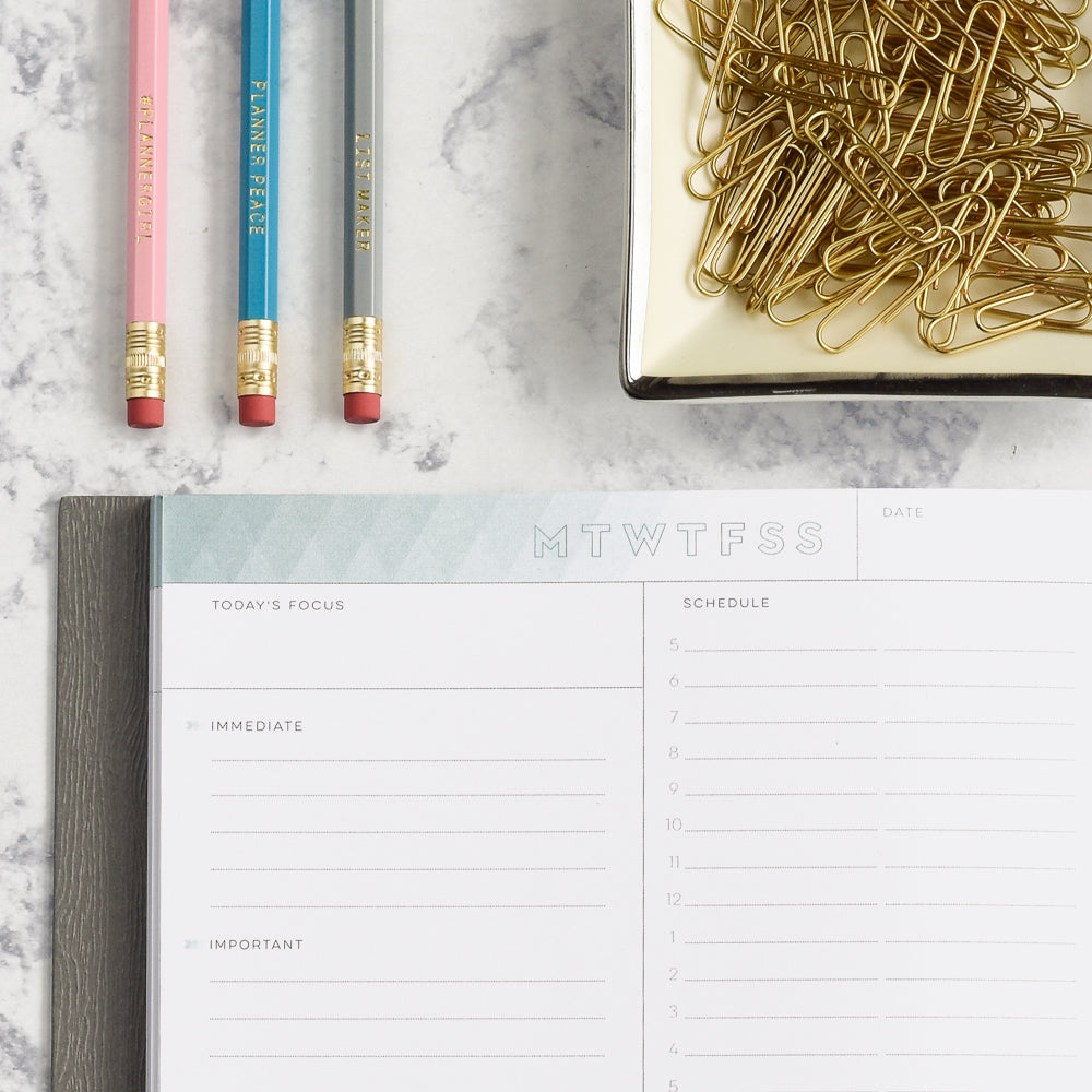 2018 Daily Planner with Timed Appointments in Lay Flat Design