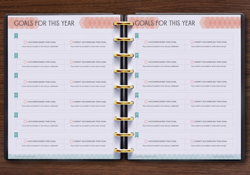 Goal Setting Yearly Review