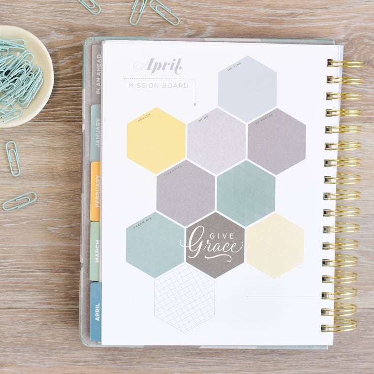 Goal Setting Planner for 2018 with Thick High Quality Paper