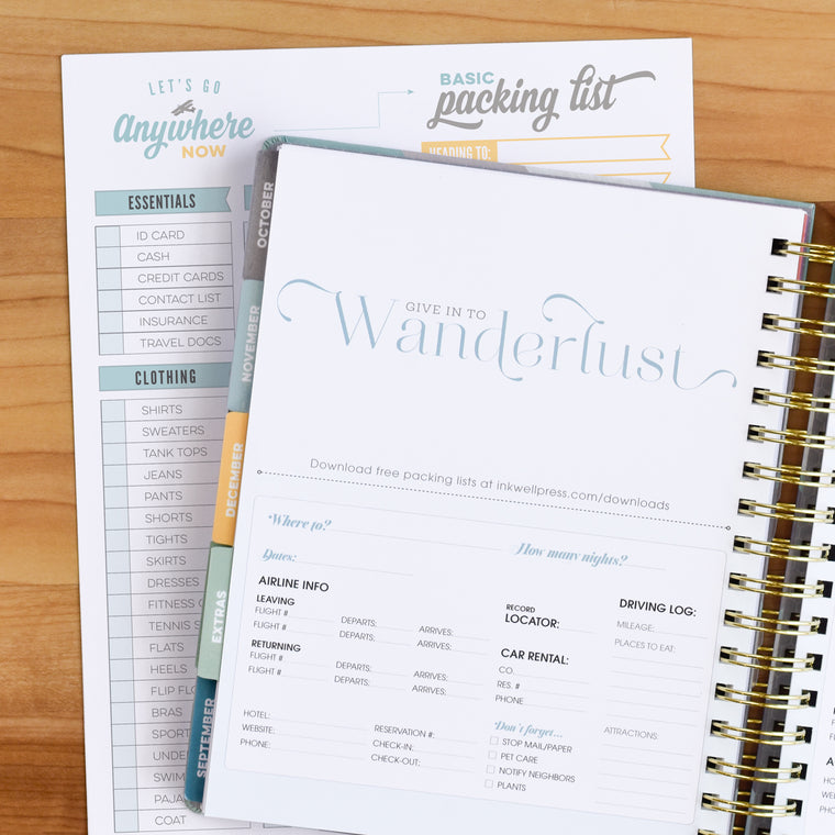 Find Balance with 2018 Planner to Focus on Goals