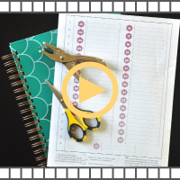 How to Add Pages to your Planner