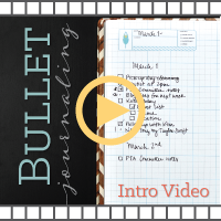 How to Bullet Journal Video
