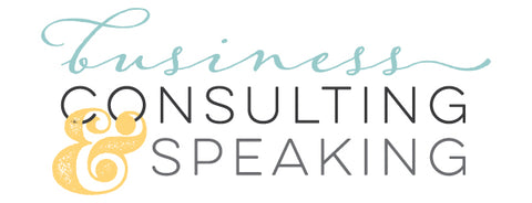 Consulting and Speaking for your Small Business
