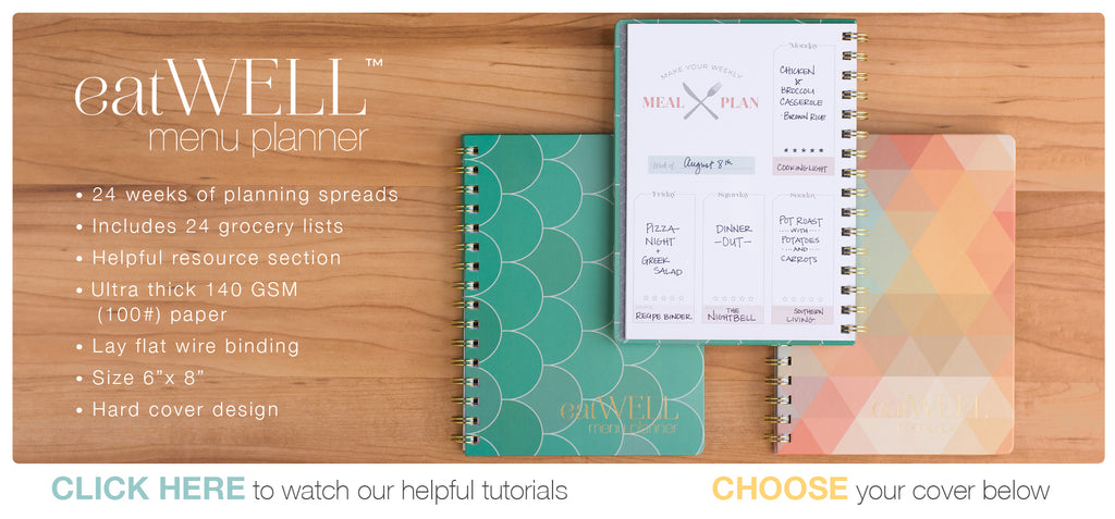 Meal Planners with help with your Weekly Menu Planning