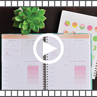 how to set up a fitness planner video