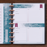 inkWELL Press Flex Planner Extras Pages with Bill Tracker and Project Planner