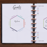inkWELL Press Monthly Planner with Goal Setting and Quarterly Planning Pages