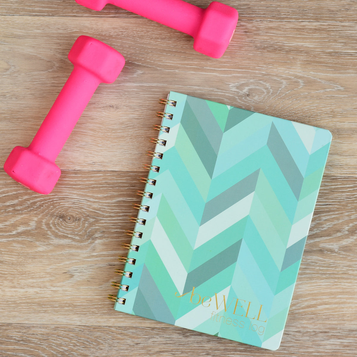 Fitness Planner and Meal Log with Hard Cover