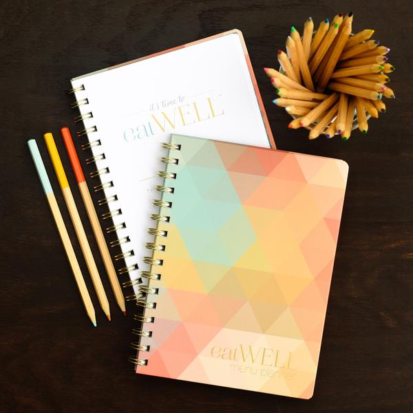 Meal Planner | Multicolor Triangle | inkWELL OUTLET
