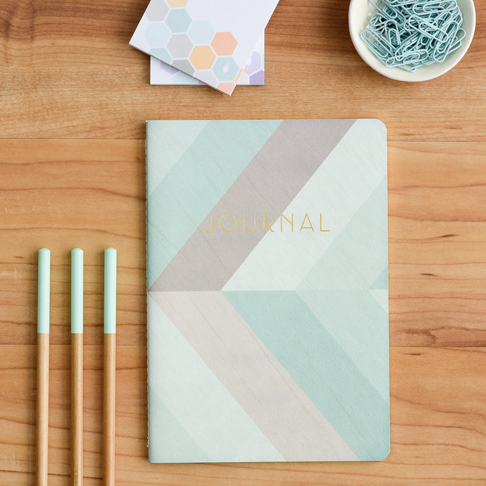 Our sewn journal is designed to coordinate with our 2018 weekly planner