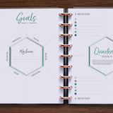 inkWELL Press Daily Planner with Goal Setting and Quarterly Planning Pages