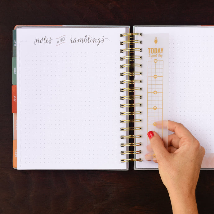 Snap in Ruler for Weekly Planner from inkWELL Press